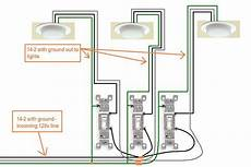 picture of how to wire a light switch electrical how do i wire a 3 gang switch in my new