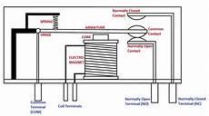 electromagnetic relay circuit diagram electromagnetic relay