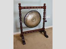 Antique Victorian Oak Dinner Gong   Antiques Atlas