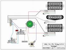 guitar wiring diagram hsh need wiring diagram for an hsh 1 volume 2 tone s 1 switch for volume