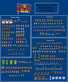 a guide to the alttp art style sprites oot 2d