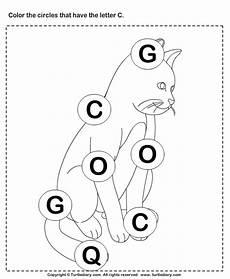 alphabet worksheets letter c 24037 identifying letter c worksheet turtle diary