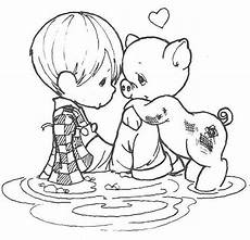 precious moments animals coloring pages 17090 pin auf baby