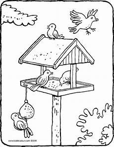 Malvorlagen Vogelhaus Gratis Bild Vogelhaus Im Winter Malvorlagen Coloring And