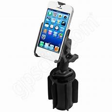 ram mount apple iphone 5 5s vehicle cup holder b