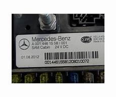 Mercedes Actros Mp4 Sam Cabin Fuse Box A 0014461558