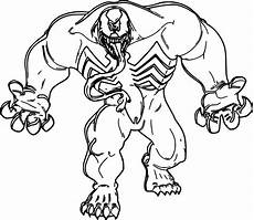 Easy Venom Coloring Pages Venom Coloring Pages Free Printable Coloring Pages At