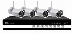 wlan überwachungskamera set netzwerk dvr mit 4 wlan ip kameras im set