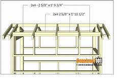deer shooting house plans deer stand plans 4x8 free pdf download with images