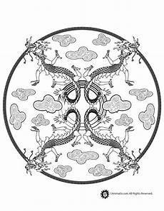 mandala coloring page woo jr activities