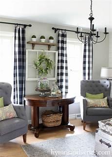 Black Farmhouse Living Room