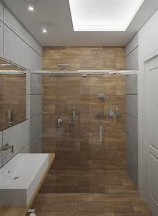 begehbare dusche fliesen kleines bad ideen fliesen holzoptik begehbare dusche glas schiebet 252 ren rahmenlos badgestaltung