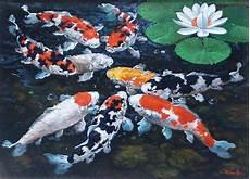 Lia Gallery Lukisan Koi Lia Gallery