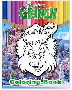 Grinch Malvorlagen Novel Grinch Coloring Book Exclusive High Quality Images