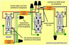 Wiring 3 Way Switches To One Receptacle