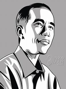 Karya Vectorku Jokowi Sang Vectoria Jenaka
