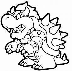 bowser mario nintendo coloring coloring pages