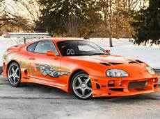 the fast and the furious toyota supra verkauft