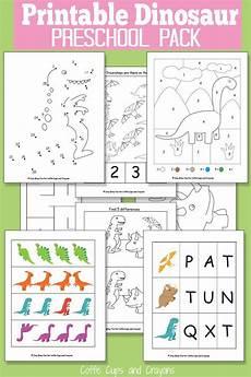 printable dinosaur for preschool