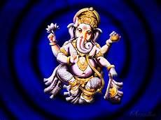 sri ganesha ganapati ganesh blue rays and light purple wallpapers