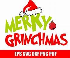 merry grinchmas svg cut file grinch christmas by svggyn zibbet