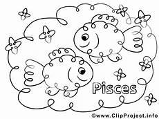 Ausmalbilder Sternzeichen Fische Fische Sternzeichen Ausmalbild F 252 R Kinder Kostenlos Ausdrucken