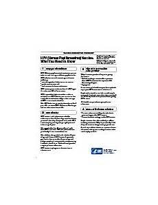 vaccine information statement hpv vis cdc