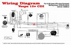 modern vespa wiring diagram p150 into a sprint