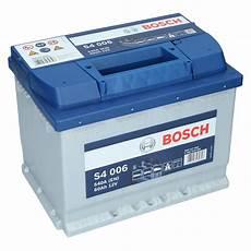 Bosch S4 006 12v 60ah 540 A En Autobatterie
