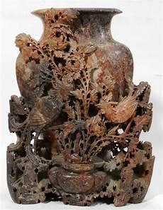 soapstone carving antique vase soapstone carving antique
