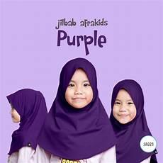 Afrakids Jilbab Anak jilbab anak afrakids purple tokoafra