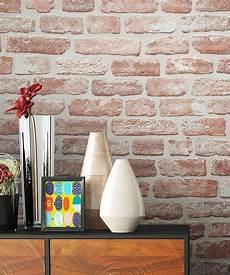 stein tapete wohnzimmer newroom vliestapete steintapete rot steintapete