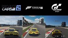 project cars 2 vs forza motorsport 7 vs gran turismo sport