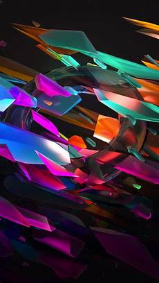 abstract wallpaper 4k for iphone wallpaper 3d glass 5k os 16368