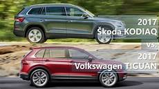 Skoda Karoq Vs Kodiaq - skoda kodiaq vs volkswagen tiguan more space or better