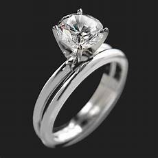 traditional solitaire engagement ring miadonna