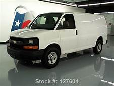 Buy Used 2010 CHEVY EXPRESS 2500 CARGO VAN 48L CRUISE