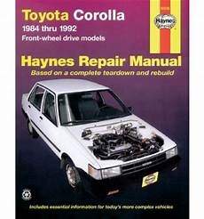 what is the best auto repair manual 1992 mercedes benz 300se head up display toyota corolla 1984 1992 automotive repair manual sagin workshop car manuals repair books