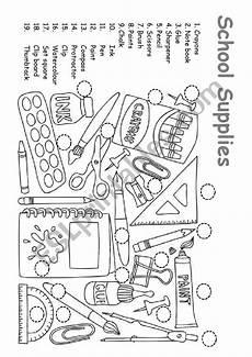 worksheets school supplies 18456 school supplies esl worksheet by natasha333333