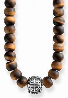 sabo kette mit anh 228 nger 187 power necklace ethno braun