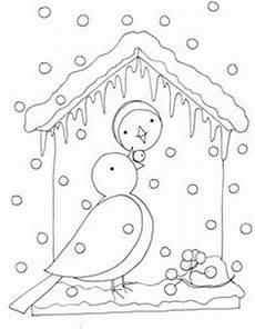 malvorlagen winter rolls winter birdhouse ausmalbilder winter ausmalbilder