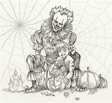 Ausmalbilder Erwachsene Horror Happy Coloring Pages For Adults