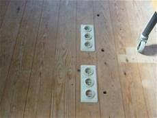 virer des prises 233 lectriques au sol
