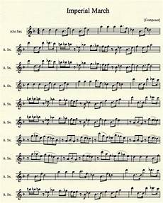 imperial march for alto sax pt 1 by mrconan42