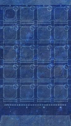 iphone grid wallpaper app grid blueprint homescreen iphone 5 wallpaper ipod