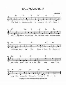 what child is this free christmas lead sheet with melody chords and lyrics