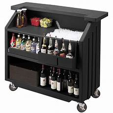 cambro portable bar 540 black mobile bars portable event
