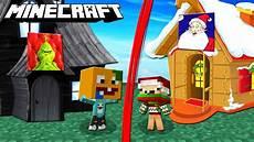 Malvorlagen Weihnachtsmann Haus Weihnachtsmann Haus Vs Grinch Haus In Minecraft