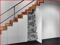 Treppe Mit Stauraum - schrank t 252 r schrank unter treppe in nische schr 228 ge