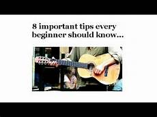 How To Play Guitar For Beginners 8 Important Guitar